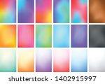 abstract blur color gradient...   Shutterstock .eps vector #1402915997