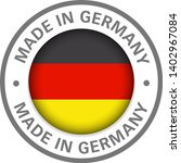 made in germany flag icon | Shutterstock .eps vector #1402967084
