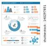detailed infographic elements... | Shutterstock .eps vector #140297851