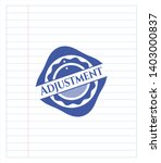 adjustment emblem draw with pen ... | Shutterstock .eps vector #1403000837