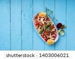 Turkish Shepherd Salad.  ...
