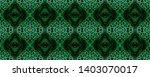 snake skin. black  green  white ...   Shutterstock . vector #1403070017