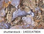 close up of pyrite and quartz... | Shutterstock . vector #1403147804