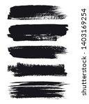 hand painted brush strokes... | Shutterstock .eps vector #1403169254
