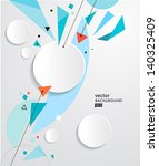 vector abstract background eps10 | Shutterstock .eps vector #140325409