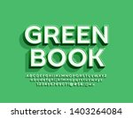 vector trendy logotype green... | Shutterstock .eps vector #1403264084