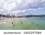 sunny beach  bulgaria   people...   Shutterstock . vector #1403297084