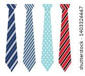 neck tie vector design... | Shutterstock .eps vector #1403326667