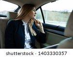 beautiful young business woman... | Shutterstock . vector #1403330357