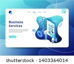 landing page business services  ...