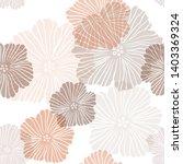 light orange vector seamless... | Shutterstock .eps vector #1403369324