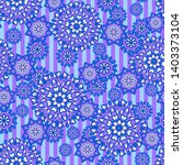 seamless oriental ornamental...   Shutterstock .eps vector #1403373104