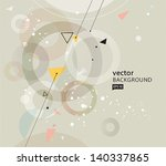 vector abstract background eps10 | Shutterstock .eps vector #140337865