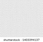 hexagon seamless pattern. black ...   Shutterstock .eps vector #1403394137