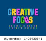 vector colorful sign creative... | Shutterstock .eps vector #1403430941