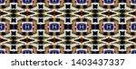 tibetan fabric. black  green ... | Shutterstock . vector #1403437337