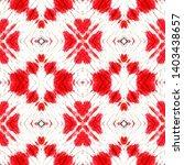 tibetan fabric. red  black ... | Shutterstock . vector #1403438657