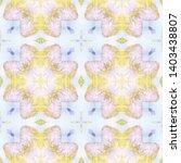 tibetan fabric. abstract... | Shutterstock . vector #1403438807