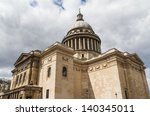 the pantheon building in paris | Shutterstock . vector #140345011