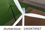 Aerial Picture Of Wind Turbine...