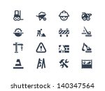 construction icons | Shutterstock .eps vector #140347564