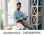 always online. young modern... | Shutterstock . vector #1403489354
