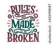 sketch banner with fun slogan...   Shutterstock . vector #1403498087
