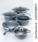 Small photo of quality non stick cookware set