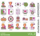 Casino Icons Including...