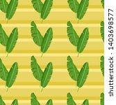 summer banana seamless pattern... | Shutterstock .eps vector #1403698577