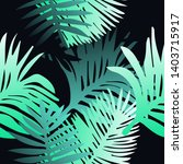 tropical botanical seamless...   Shutterstock .eps vector #1403715917