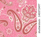 Floral Seamless Pattern In Pin...