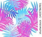 tropical botanical seamless...   Shutterstock .eps vector #1403786981