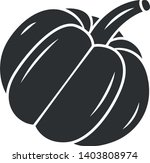 pumpkin glyph icon. gourd.... | Shutterstock .eps vector #1403808974
