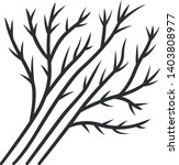 dill leaves linear icon.... | Shutterstock .eps vector #1403808977
