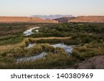 rio grande river at big bend... | Shutterstock . vector #140380969