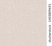 leopard print pattern. vector... | Shutterstock .eps vector #1403809691