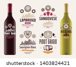 vector vintage red and white... | Shutterstock .eps vector #1403824421