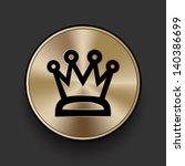 vector metal multimedia crown...