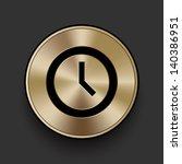 vector metal multimedia clock...