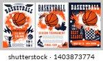 basketball tournament  sport... | Shutterstock .eps vector #1403873774