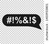 shout speech bubble icon in... | Shutterstock .eps vector #1403933801