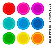 set of multi colored condoms  ... | Shutterstock . vector #1403935361