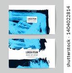 set of vector business card...   Shutterstock .eps vector #1404022814