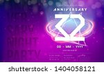 32 years anniversary logo... | Shutterstock .eps vector #1404058121