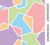 abstract pentagon seamless... | Shutterstock .eps vector #1404103034