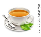 cup of tea | Shutterstock .eps vector #140412001
