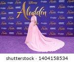 naomi scott at the los angeles...   Shutterstock . vector #1404158534