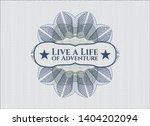 blue and green rosette  money... | Shutterstock .eps vector #1404202094
