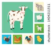 vector illustration of breeding ... | Shutterstock .eps vector #1404211511